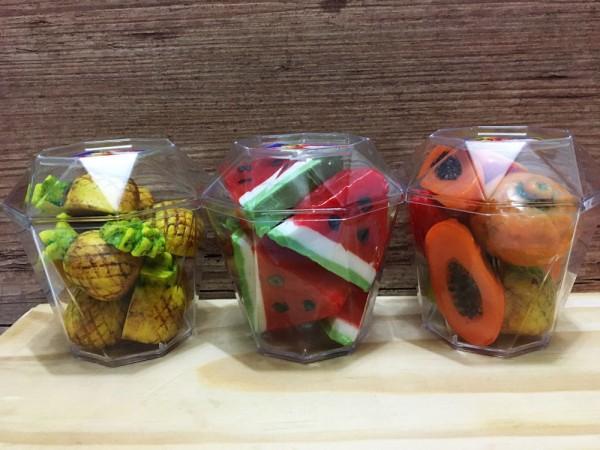 Compota de frutas (plastico)