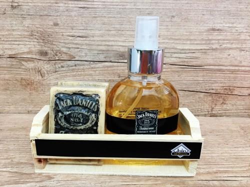 Dupla (spray ambiente e sabonetes) Jack Daniel´s