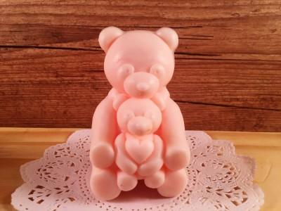 Mamãe e bebê - Urso