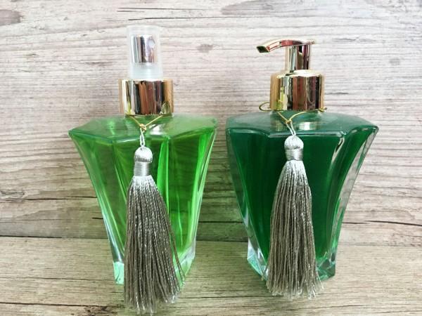 Aromatizador spray e sabonete líquido