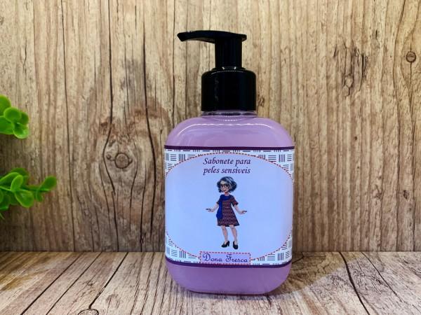 Sabonete líquido - peles sensíveis