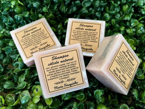 Shampoo sólido natural