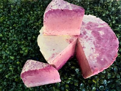 Sabonete - frutas amarelas e batata roxa