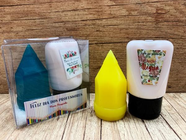 Giz soap com luvas de silicone