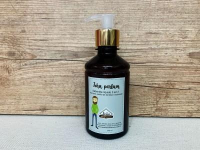 John Parfum - 3 em 1 sabonete líquido