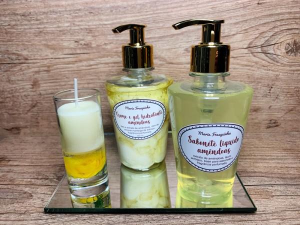 LA - Leite de amêndoas (locc) - Sabonete líquido e creme / gel