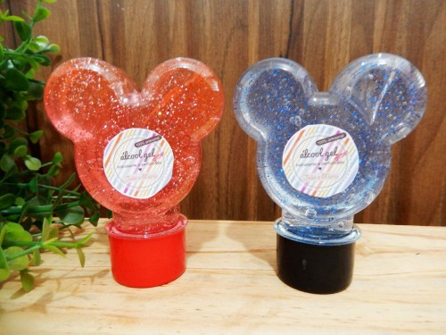 Mickey - álccol gel com gliter