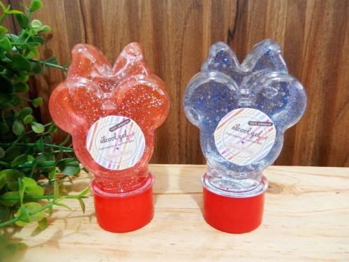 Minnie - álccol gel com gliter