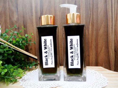 Aromatizador de varetas e sabonete Black & white