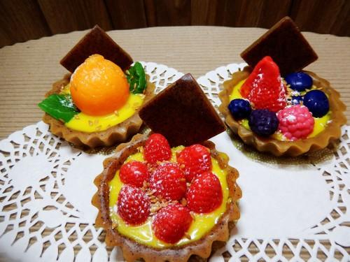 Tortinha de frutas