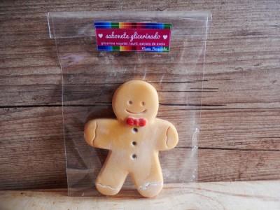 Boneco biscoito