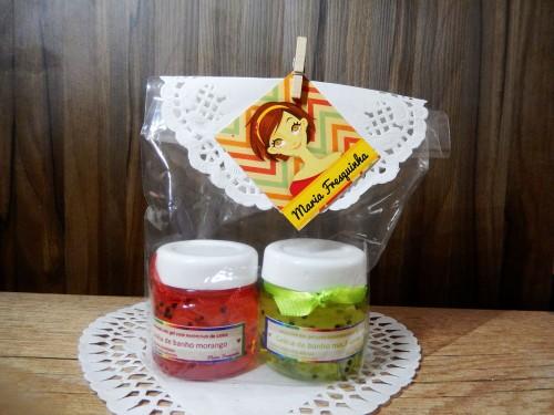 Geléia de banho - mini (2) plastico