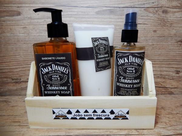 Jack - sabonete, colônia e creme hidratante