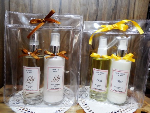 Body Splash e creme hidratante (perfumaria importada) 120 ml