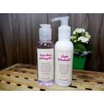 Limpeza e hidratação do rosto