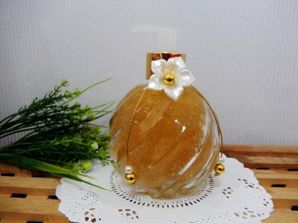 Gliter Dourado - sabonete gel