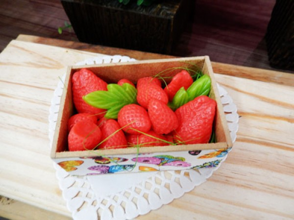 Frutas moranguinhos