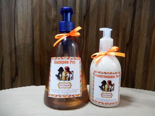 Pet - Shampoo e condicionador