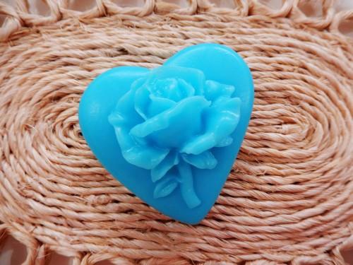 Coração com Rosa